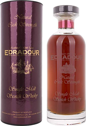 edradour whisky Edradour Natural Cask Strength Single Malt Scotch Whisky 2004 (1 x 0.7 l)