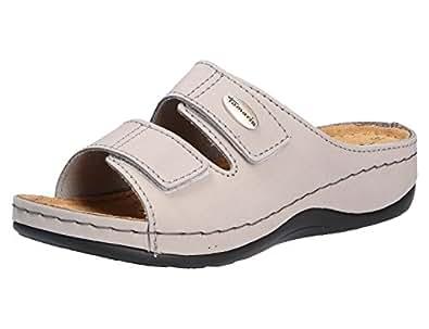 Tamaris Damen 27510 Pantoletten, Grau (Grey), 39 EU