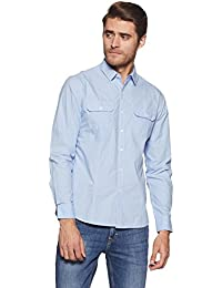 Symbol Amazon Brand Men's Casual Slim Fit Shirt