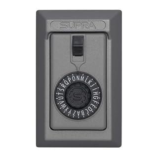 Kidde AccessPoint 001014 KeySafe Original 5-Key Permanent, Spin Dial, Titanium Gray