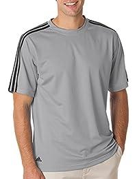 Adidas Climalite T-shirt de Golf pour Homme Motif 3bandes