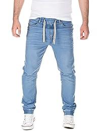auf f r jeans mit gummizug herren bekleidung. Black Bedroom Furniture Sets. Home Design Ideas