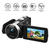 """PRIKIM Videocamera FULL HD 1080P Fotocamera 24.0MP 16X Zoom Digitale 2.7"""" Schermo LCD Ruotabile Istruzioni in Italiano"""