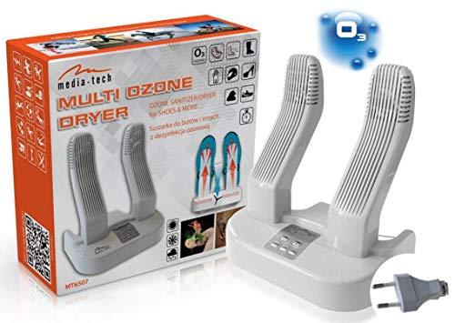 Media-Tech MT6507 Multi Dryer Ozone Pro Schuhtrockner elektrisch Schuhwärmer Schuhwärmer Schuhheizung Trocknen Skischuhe Stiefel Handschuhe Socken