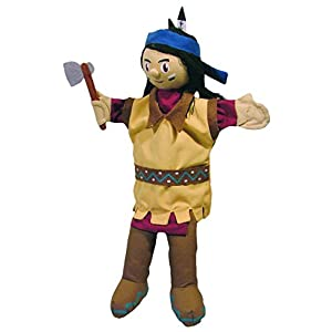 Sycomore MA35030 – Marionnette à Main 35 cm – Indien