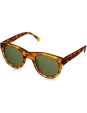 Michael Kors - Gafas de sol Redondas MKS825 para mujer, Brown frame / Brown lens (227)