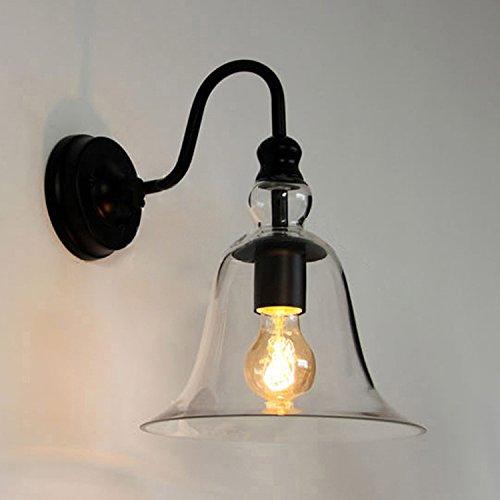 ZHFC-schlafzimmer mit lampe glas lampe glocke läutet korridor lampe wand lampe einen modernen wohnzimmer -