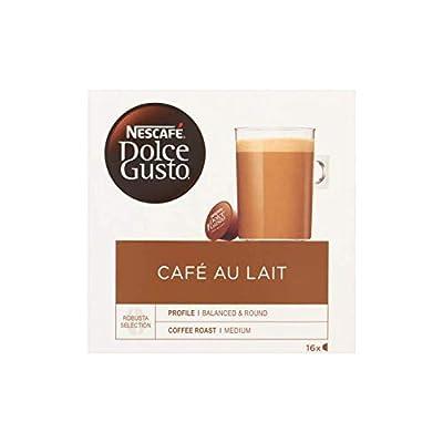 Coffee Capsule | Nescafé | Dolce Gusto Coffee Milk Koffie Capsules 16 Stuks | Total Weight 160 Grams