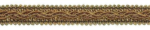 Brun doré Baroque Collection Gimp Tresse 7/20,3cm Style # 0078bg