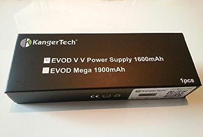 EVOD VV Twist Akku Original Kangertech 1300 - 1600mAh 3,3 - 4,8Volt von Kangertech