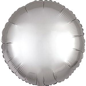 Globo de papel de aluminio Amscan International 3618502, forma de círculo Círculo color rosa oro