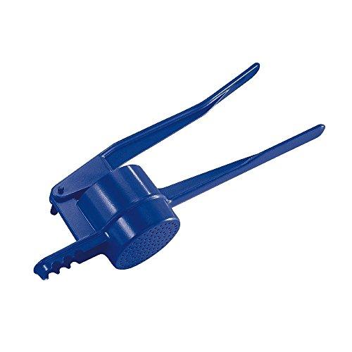 Westmark Kartoffel-/Spätzlepresse, Mit runder Lochung, Aluminiumdruckguss, Länge: 41 cm, Spätzlepress, Blau, 6110223V