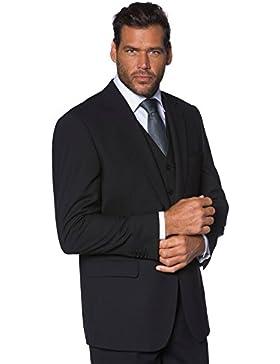 JP 1880 Herren große Größen bis 70 | Sakko | Anzug-Jacke in schwarz & blau | Blazer mit 2-Knopf Verschluss | Schnurwoll-Qualität...