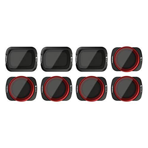 Freewell All Day - 4K-Serie - 8-Pack ND4, ND8, ND16, CPL, ND8/PL, ND16/PL, ND32/PL, ND64/PL Camera Lens Filters Kompatibel mit DJI Osmo Pocket
