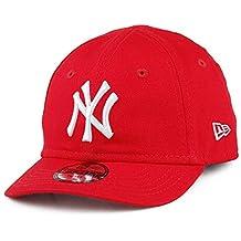 7980b9ae150cd A NEW ERA Gorra de béisbol 9FORTY Kids League Essential York Yankees Rojo