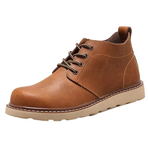 LIMITA Handgemachte Herren Stiefel Retro Schuhe Luxusmarke Kleid Schuhe Kurze Stiefel Herren Chelsea Boots Herren Klassische Stiefel Bundeswehr Kampfstiefel (Herren-boot-kleid)