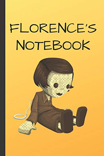 Florence's Notebook: Doll  Writing 120 pages Notebook Journal -  Small Lined  (6