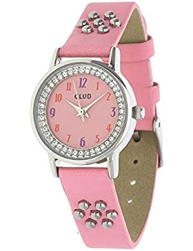 Club Mädchen Armbanduhr rosa A65147S14A