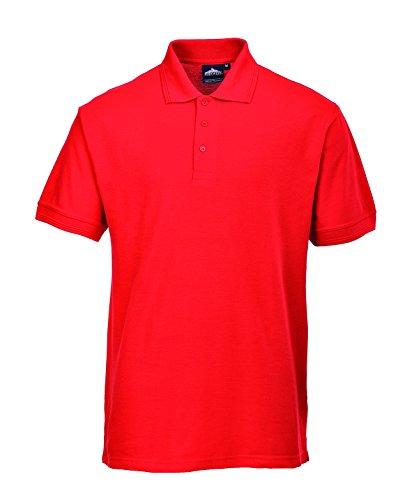 PORTWEST B210 - Polo-Shirt Naples, dunkel marine, XXL, B210DNRXXL rot