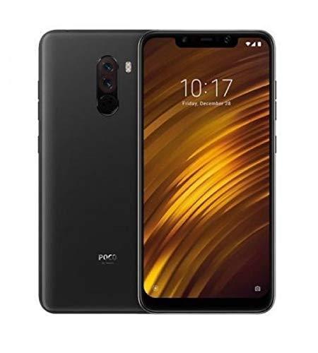 """Xiaomi Pocophone F1 - Smartphone Dual SIM de 6.18"""" (4G, Qualcomm Snapdragon 845 2.8 GHz, RAM de 6 GB, memoria de 64 GB, cámara dual, Android), negro (Graphite Black) - [Versión Española]"""
