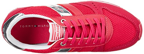 Tommy Hilfiger Mädchen J3285aimie 14c2 Low-Top Pink (Virtual Pink 615)
