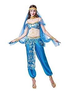 Bristol Novedad AF072 Harem Dancer, Mujeres, Azul, Talla Única