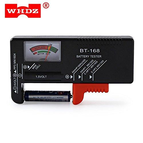 BT-168 Batterietester für 9V 1.5V Knopfzelle AAA AA C D AG Universal Batterie Kapazitätsprüfgerät Checker Diagnosewerkzeug