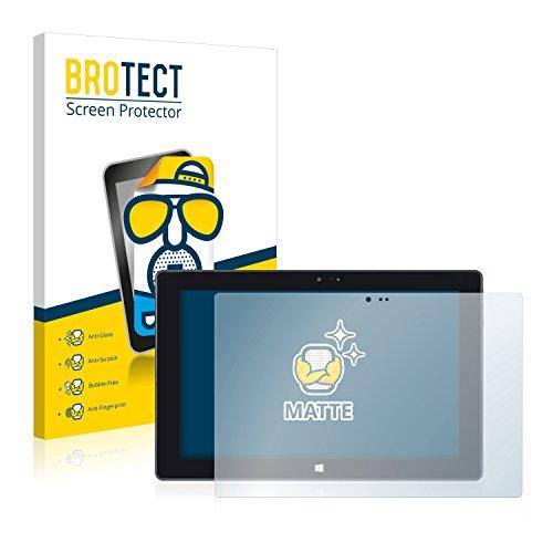 BROTECT Entspiegelungs-Schutzfolie kompatibel mit Wortmann Terra Pad 1061 (2 Stück) - Anti-Reflex, Matt