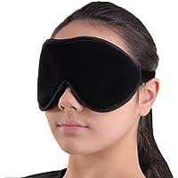 Preisvergleich für Luxus Schlafmaske - Sanfte Augenbinde - Schlafbrille mit 100% Lichtschutz für Tiefenentspannung - Beste Augenmaske...