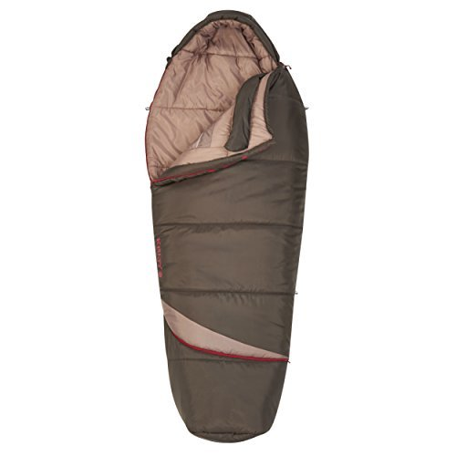 Kelty Tuck EX 20 Degree Sleeping Bag, Mocha/Lava by Kelty