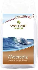Verival Natur Meersalz unjodiert, unraffiniert, ungebleicht - 500g