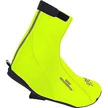 GORE BIKE WEAR Road Windstopper Soft Shell - Botin de ciclismo, color amarillo, talla 42-44