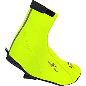 GORE BIKE WEAR Road WINDSTOPPER SO Thermal Overshoes, neon yellow, Size: 36-38, FTOXYT080006