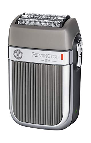 Remington Manchester United Heritage Cordless Electric Shaver Including Razor Cleaning Brush and Face Towel, Silver Best Price and Cheapest