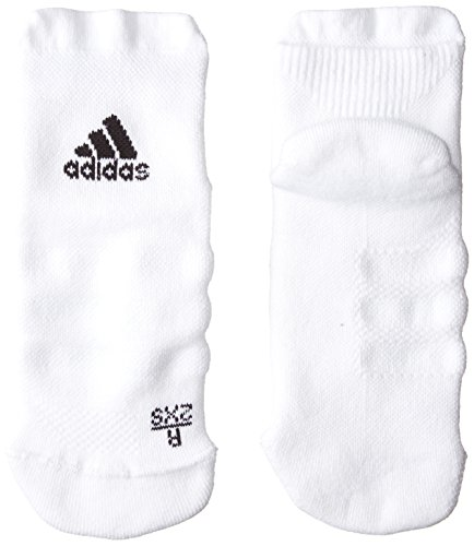 adidas Erwachsene Alphaskin Ankle Maximum Cushioning Socken, White/Black, EU 37-39