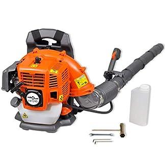 mewmewcat Soplador de Hojas Portátil con Gasolina de 42,7 CC, 900 m³/h Potencia 1,25 kW