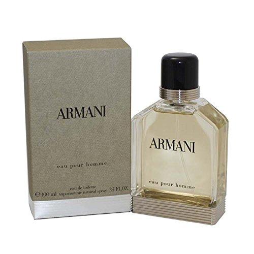 Armani pour homme/ men Eau de Toilette Vaporisateur, 1er Pack, (1x 100 ml) -