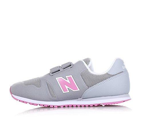 New Balance Kids Lifestyle 373 Synthetic filles, suède, sneaker low Grey/Pink