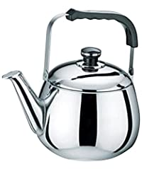 Uniware Stainless Steel Tea Kettle, 6 L, Silver [3070-6]