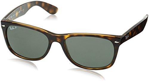 Ray Ban Herren Sonnenbrille New Wayfarer Tortoise, Large (Herstellergröße: 58)