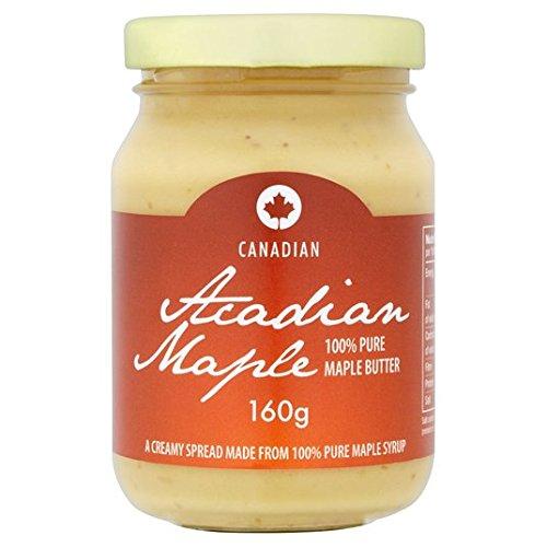 Maple acadienne érable pur beurre 160g