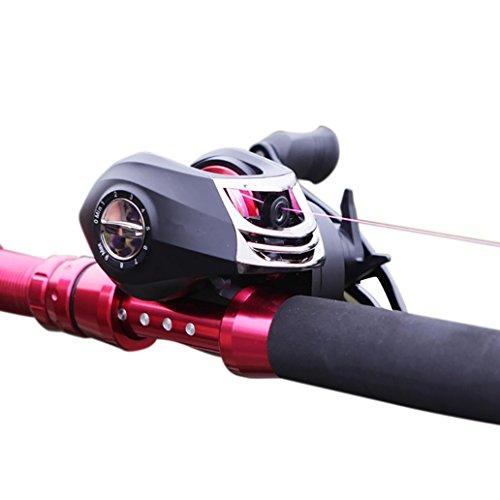 Gaddrt bait casting mulinello baitcasting mulinello da pesca in carbonio baitcaster mulinello da pesca in fibra di carbonio drag