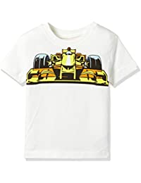 GAP Baby Boys' Plain Regular Fit T-Shirt