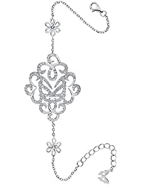 Vamp London mujer  Plata de ley (925/1000)  plata redondo   incoloro circonita