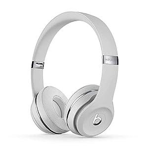 Beats Solo3 Wireless On-Ear Headphones - Apple W1 Headphone Chip, Class 1 Bluetooth, 40 Hours Of Listening Time - Satin Silver (Latest Model)