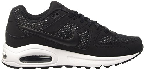 Nike  Wmns Air Max Command, Gymnastique  femme Multicolore (Black/black-white)