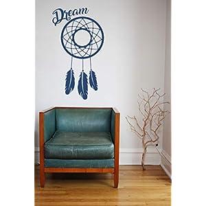 Dreamcatcher, Vinyl, Wandkunst Aufkleber, Wandbild, Aufkleber. Haus, Wanddekoration, Küche, Esszimmer, Schlafzimmer.