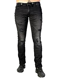 Jogg Jeans Le Temps Des Cerises JH711JOGGWM43 Negro