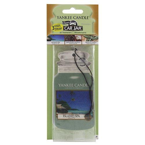 Yankee Candle 1159970E Auto-Lufterfrischer, Autodach Auswahl Packung 3 Stück, Spa Day