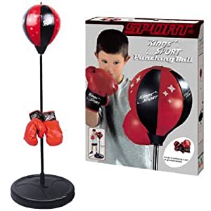 """Kings Sport Boxing Punching Bag With Gloves Punching Ball for Kids 43"""""""